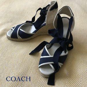 COACH Espadrille Sandals